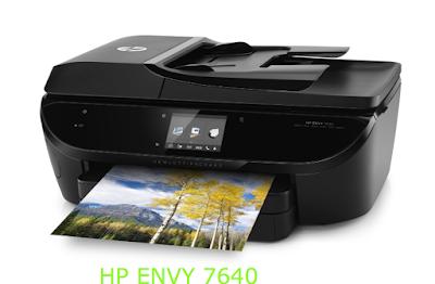 HP Envy 7640 Driver Download and Setup