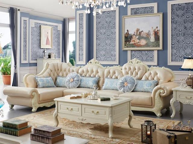 Mẫu sofa cổ điển nhập khẩu cao cấp, sang trọng