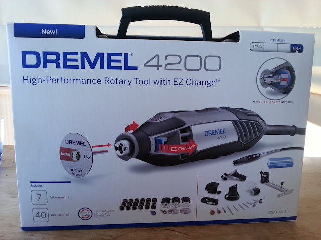 Dremel 4200 rotary tool for scale model building
