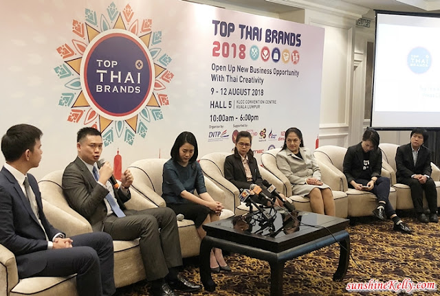 Top Thai Brands 2018, Thai Trade Fair, Thai Expo in Malaysia, Thai Expo