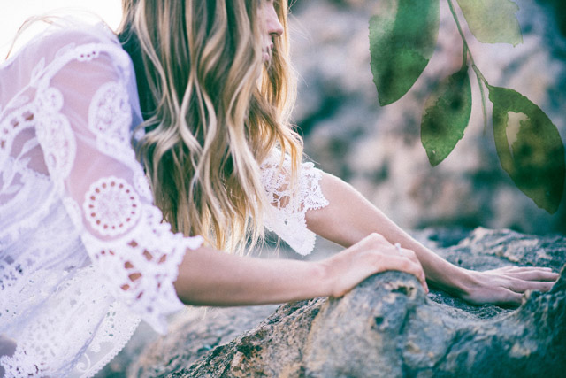novia bohemia boho wedding spain bride ibiza
