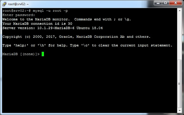 mariadb - Tutorial Cara Install Nginx, MariaDB & PHP 7.2 pada Ubuntu 18.04