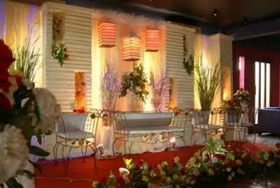 desain dekorasi pernikahan klasik