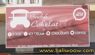Geco Lava Cake in Gerobak Cokelat Bali