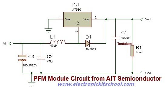 Figure 1 Basic Bistable Circuit Configuration Using A 555 Timer