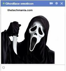facebook chat emotions Ghost face