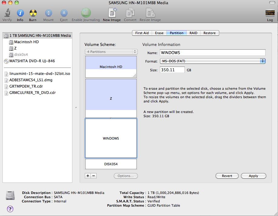 Boot camp mac install disc windows 10