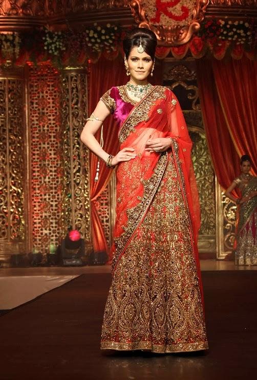 هوليوود فور عرب: Vikram Phadnis's Bridal Couture ...