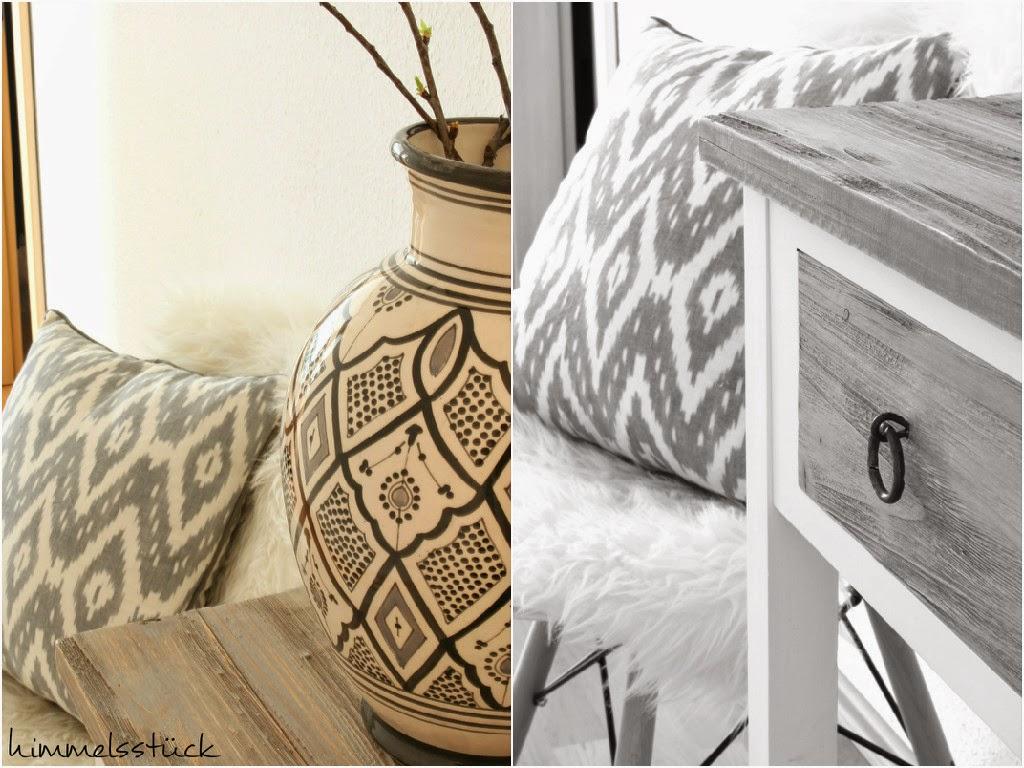 Das Grau Harmoniert So Schön Mit Der Neuen Farbe Im Treppenhaus. Überhaupt  Sind Das Unsere Hauptfarben, Die Sich Auch In Allen Anderen Räumen Wieder  Finden.
