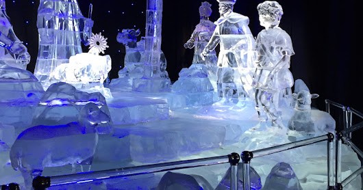 ICE - Family Travel Fun at the Gaylord Texan Resort in Grapevine, Texas