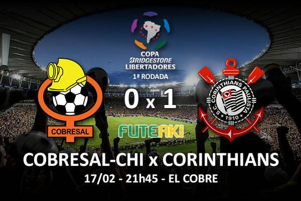 Veja o resumo da partida com os gols e os melhores momentos de Cobresal-CHI 0x1 Corinthians pela 1ª rodada da Copa Libertadores da América 2016.