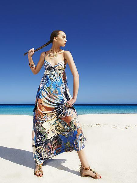 Vestidos largos sencillos para playa