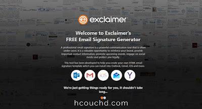 موقع Exclaimer