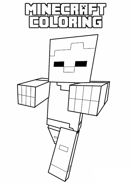 Memorial Day  Free Minecraft Coloring Pages