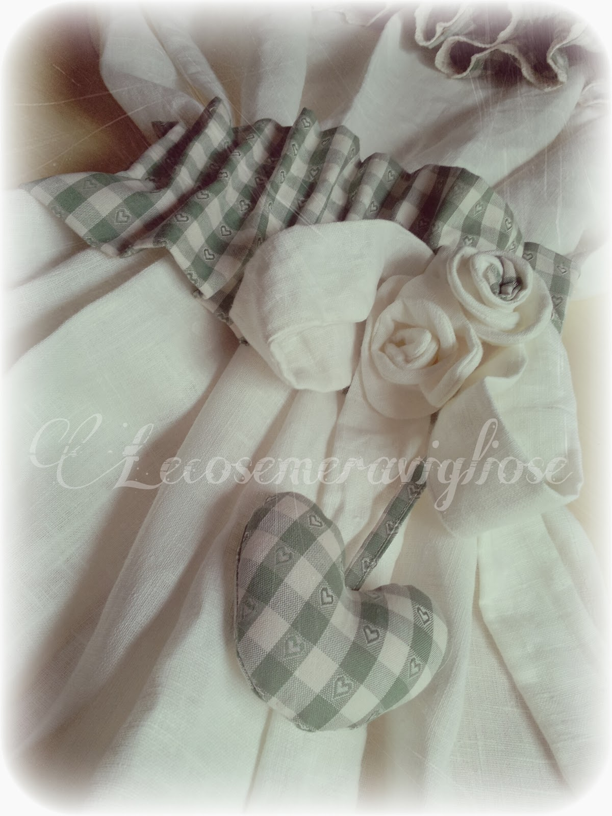Lecosemeravigliose shabby e country chic passions: tende,cuscini ...