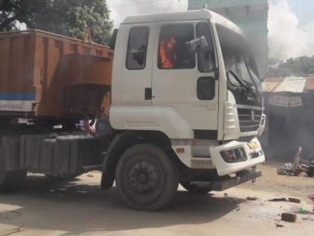 जौनपुर में ट्रक ने ६ लोगों को कुचल डाला