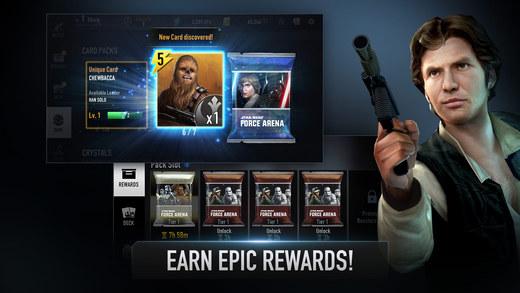 screen520x924 HACK Star Wars™: Force Arena ver 1.0.5 (+3) (32/64 Bit) Apps