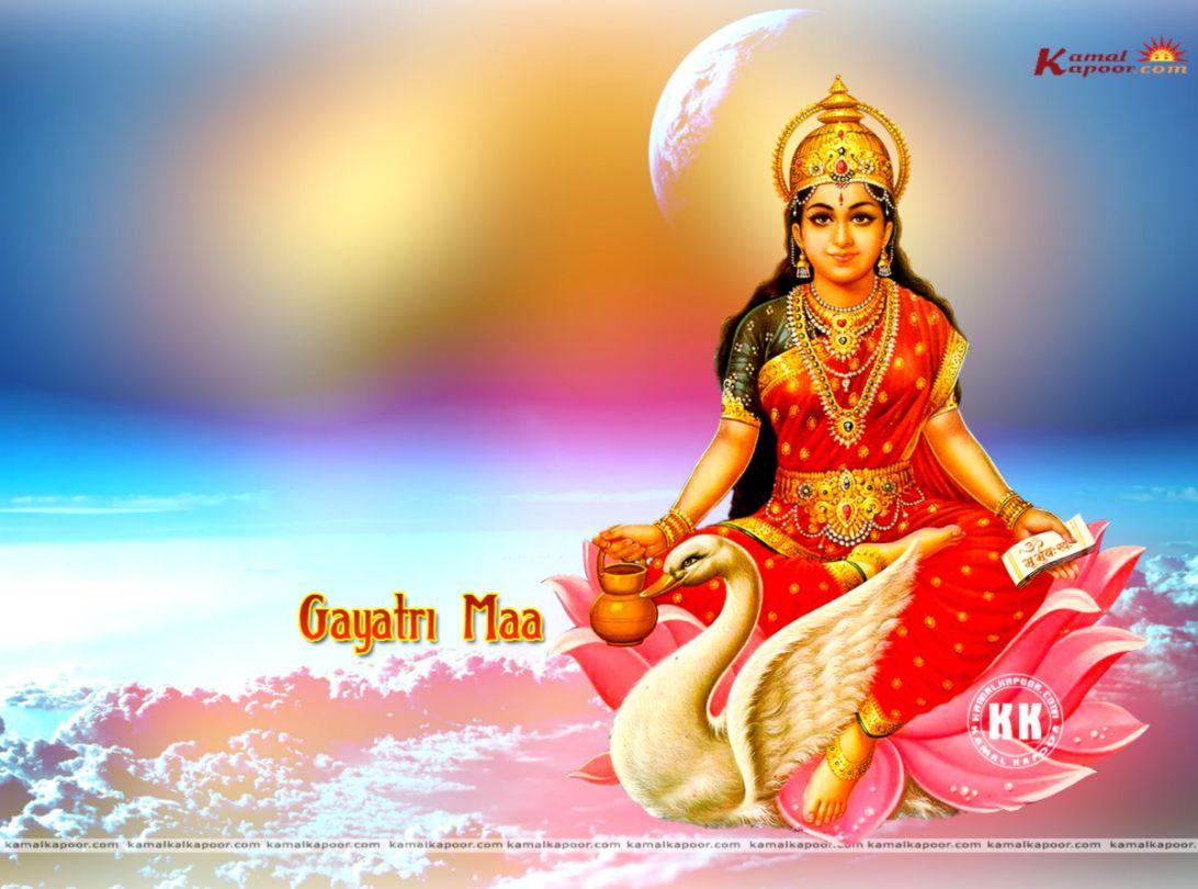 Jai Gayatri Maa Wallpapers Genius