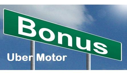 sistem bagi hasil uber motor, bagi hasil uber motor, bonus uber motor, subsidi uber motor
