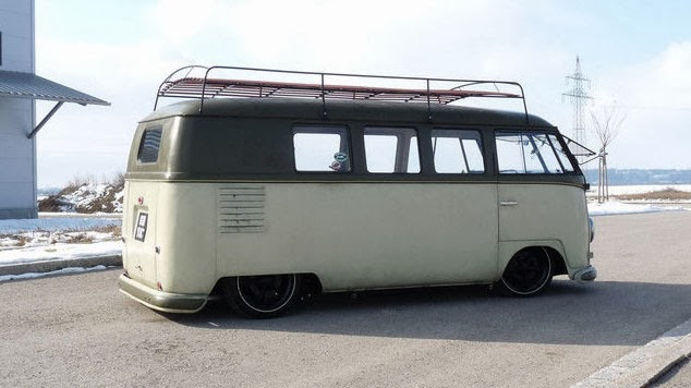 1954 Barndoor Camper Vw Bus