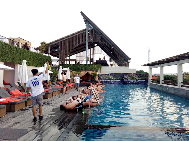 Sky Pool Party at The ONE Legian Hotel