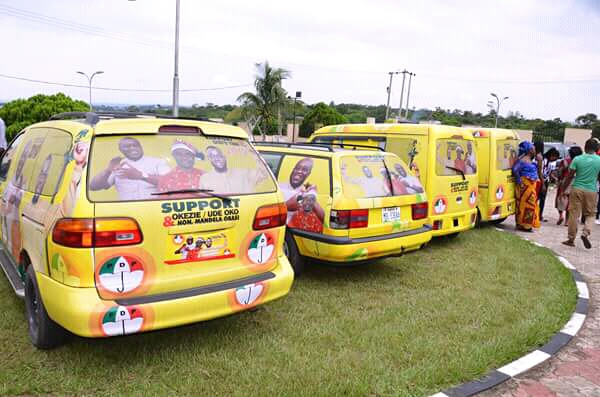 Hon Mandela empowers  constituents with Cars, motor circle, and other empowerment items.