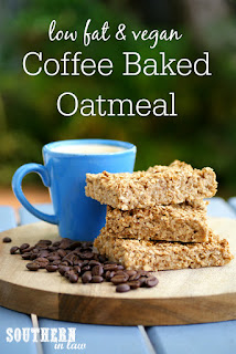 Healthy Gluten Free Coffee Baked Oatmeal Recipe