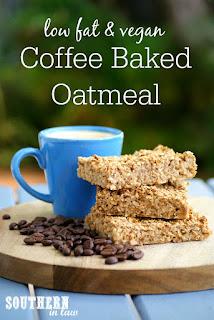 Healthy Gluten Free Coffee Baked Oatmeal Recipe