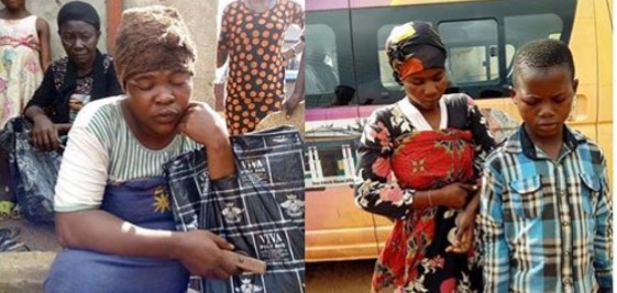 Fake blind beggars using rented kids, nabbed in Anambra . .
