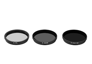 Polarpro DJI Osmo / Inspire 1 Filter 3-pack