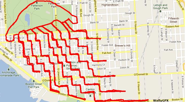 Design il ciclista che disegna con il gps hub09 brand for Disegnare una piantina
