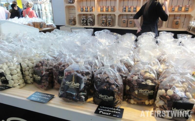 van Delft chocolade pepernoten markthal rotterdam netherlands