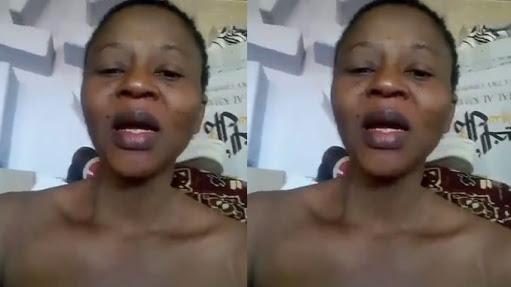 Nigerian Lady Cries Out After She Was Tricked, Turned To A Slave
