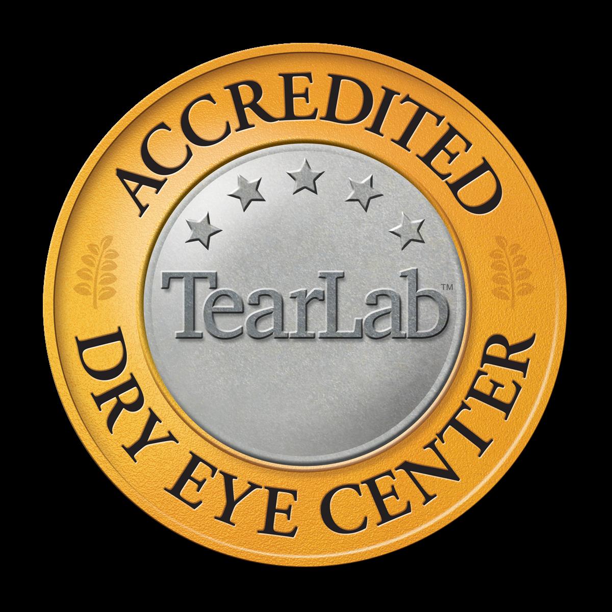 Accredited Dry Eye Center logo