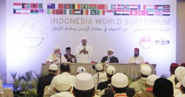 Habib Luthfi Dipilih sebagai Pimpinan Forum Sufi Dunia
