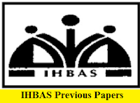 IHBAS Previous Papers