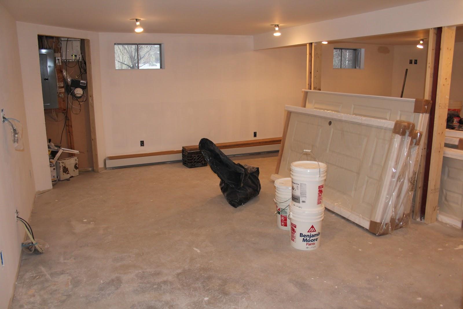 Lighting Basement Washroom Stairs: Basement Progress