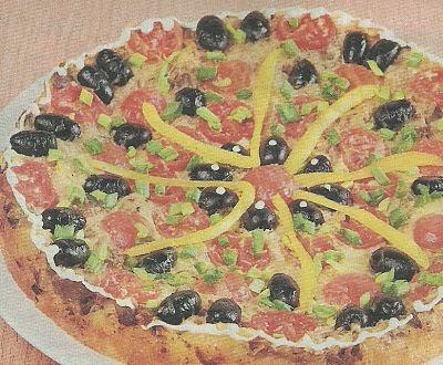 Состав продуктов и способ приготовления пиццы с куриной печенкой и овощами