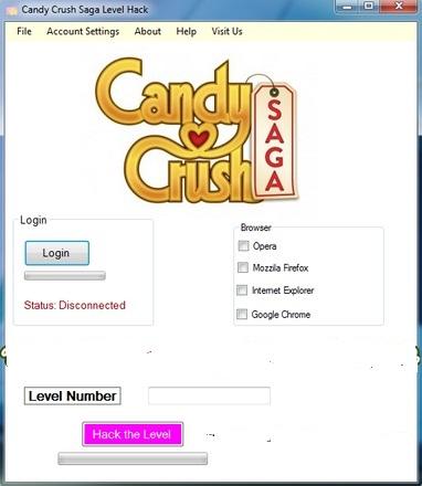 Candy Crush Saga Level Hack Tool Free Download
