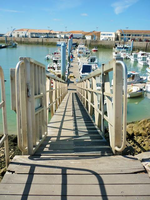 Village de La Cotinière - L'île d'Oléron - Charente Maritime - France