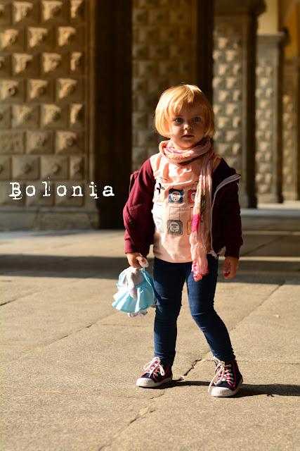 Hania poznaje świat w Bolonii