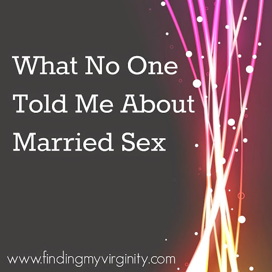 Let's Talk About (Married) Sex, Baby!