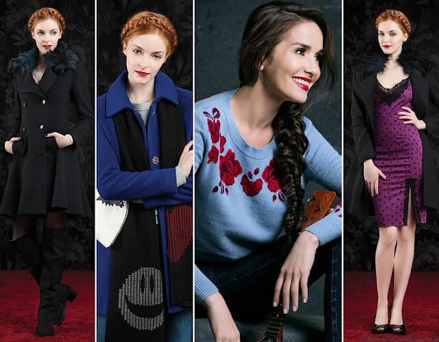 Las Oreiro otoño invierno 2016 colección tapados, vestidos, moda otoño invierno 2016.