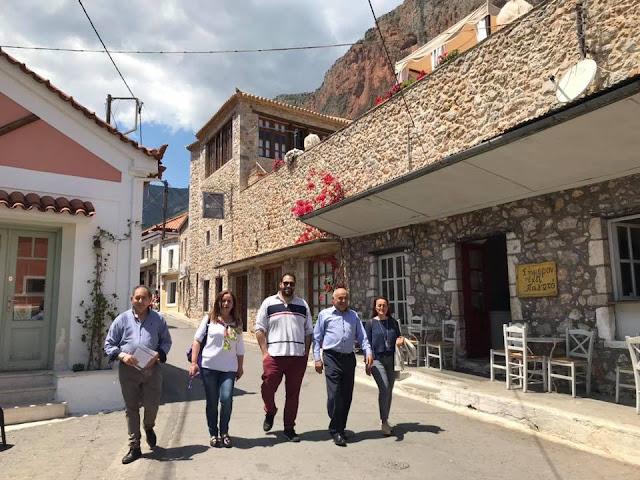 Επίσκεψη Μπουντρούκα στην Κυνουρία