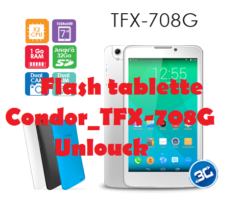 firmware condor tfx-708g
