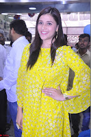 Mannara Chopra Looks Cute in Yellow Salwar Suit ~  Exclusive 34.JPG
