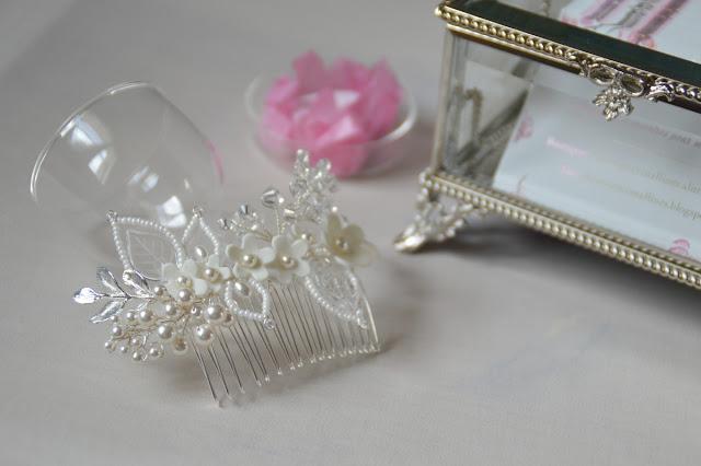 peigne cristal pour mariée