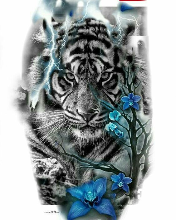 tiger-tattoos-for-girls-15 15 Most Amazing Tiger Tattoos For Women tattoo