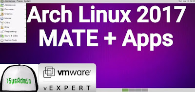 Arch Linux 2017 Installation with MATE Desktop