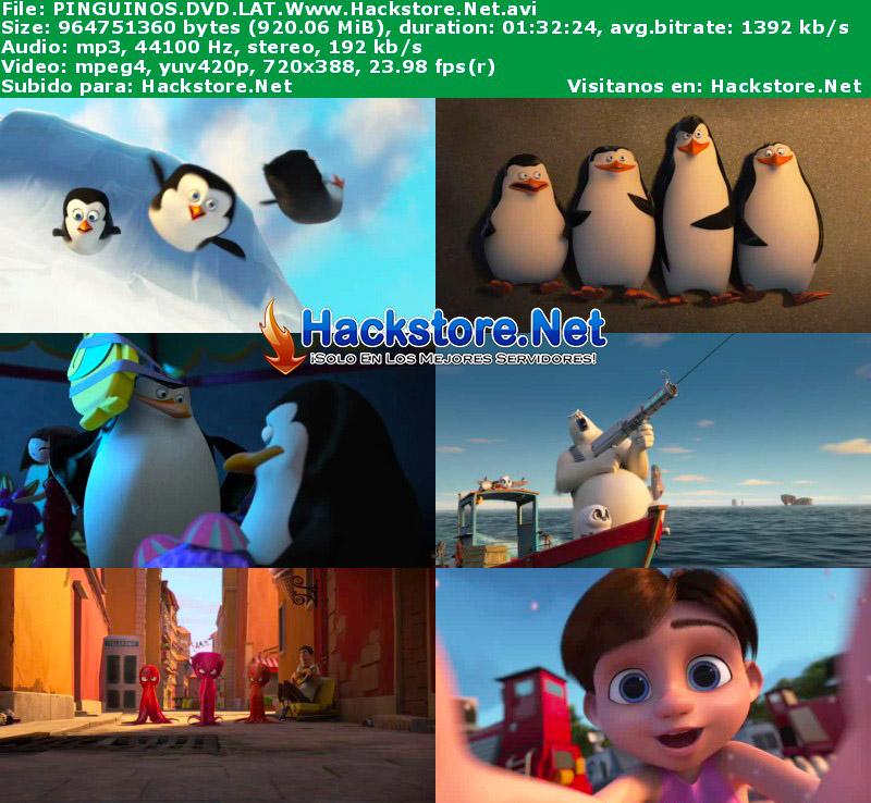 Capturas de Los Pingüinos de Madagascar (2014) DVDRip Latino